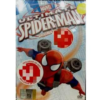 Marvel Ultimate Spiderman Ultimate Anime DVD