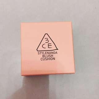 Authentic 3ce blush cushion #Mandarine