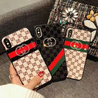 OW106  Gucci Striped Iphone casing