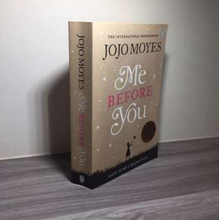 Me before you by Jojo Moyes