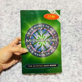 Who Wants To Be A Millionaire: The Bumper Quiz Book