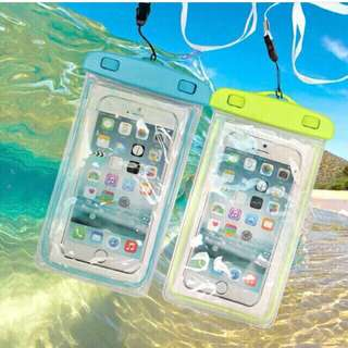 Glow in the dark waterproof case