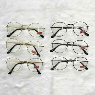 Unisex clear specs