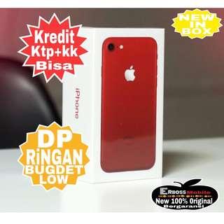 Kredit Low Dp 3jt iphone 7 128gb Red (REP) Original-ditoko ktp+kk wa;081905288895
