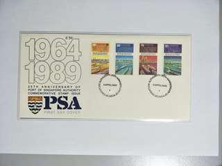 Singapore FDC PSA