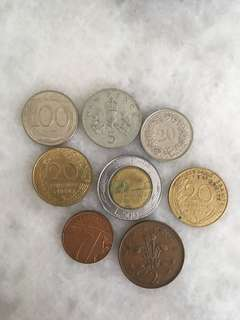 Lot of European coins