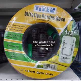 Garden Hose Reel Set on Promotion @ FairPrice Xtra Outlets