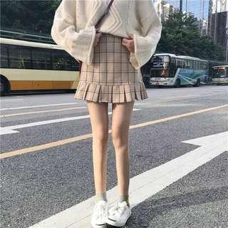 [PO] grid skirt
