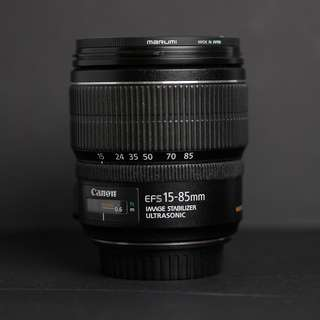 Canon EF 15-85mm f/3.5-5.6 IS USM