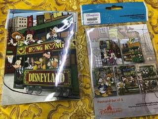 香港迪士尼樂園明信片