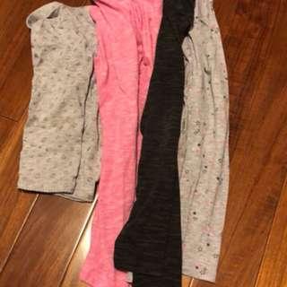 H&M 內搭褲 4件組