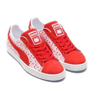 Puma Suede Classic x Hello Kitty 紅白 波鞋 絕版 復古