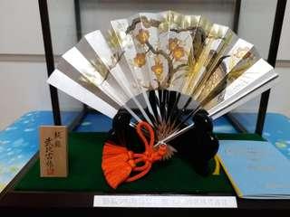 日本純銀扇