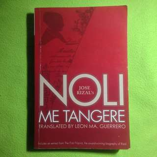 Noli Me Tangere translated by Leon Ma. Guerrero