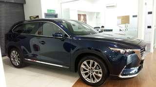 Mazda CX9 CBU fully import Japan