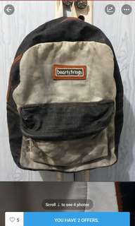 Heartstring back pack