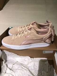 Puma women's sneakers Suede Bow VAL