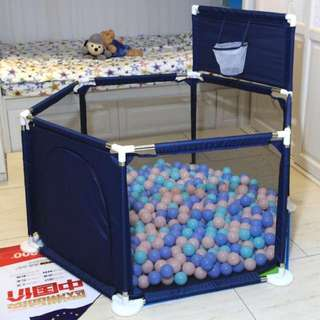 playpenn with basketball