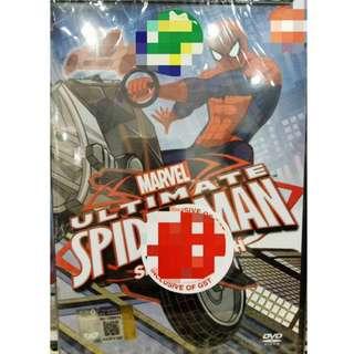 Marvel Ultimate Spiderman Ultimate Tech Anime DVD