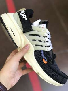 Authentic Nike Air Presto Off White Limited Edition