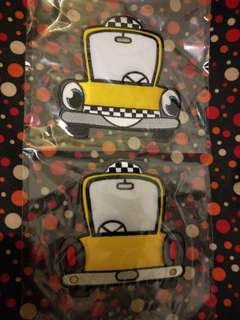 New Yorker Yellow Cab Taxi Applique iron on Patch