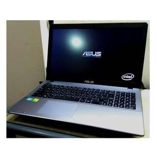 ASUS i5 第三代 四核心 X550VC 15.6吋LED i5-3230M/8G/128G SSD 高階i5獨顯遊戲機 筆記型電腦