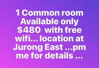 Cheap room at Jurong east 6mos contract