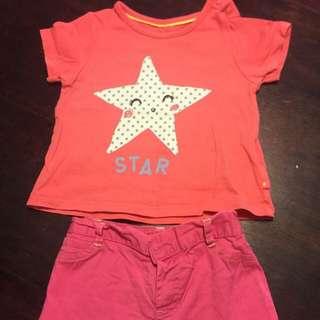 Baby's t-shirt M&S