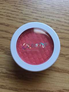 Colourpop blush in holiday