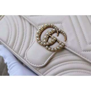 Gucci Marmont Pearl Bag