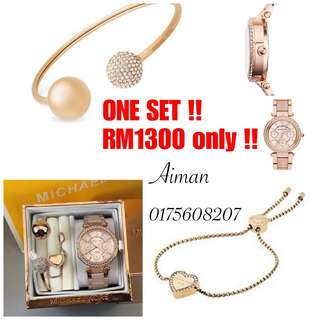 One Set Michael Kors