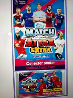 Looking For Match Attax 17/18 Extra Cards