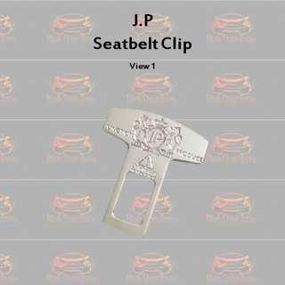 J.P Chrome Seatbelt Clip