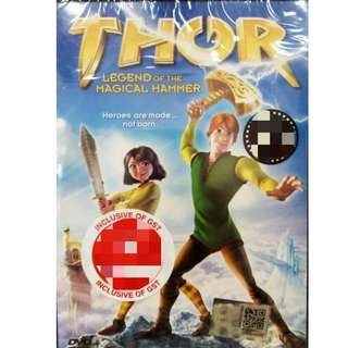 THOR Legend Of The Magical Hammer Anime DVD