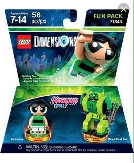 Powerpuff Girls Lego Dimension - Buttercup