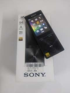 Sony Walkman NWZ-A17 64GB Black My Set