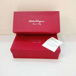 Salvatore Ferragamo Shoes Box Authentic original branded
