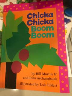 Chicka chicka boom boom best selling book/ story book, children book