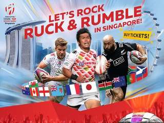 HSBC Singapore Rugby 7s 2018 Tickets