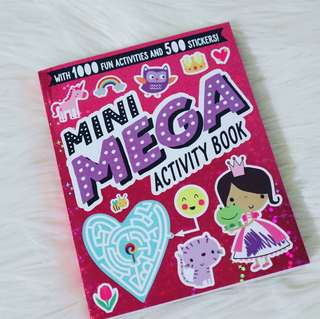 MAY2018 : MINI MEGA ACTIVITY BOOK