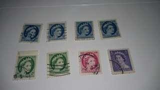Canada vintage stamps