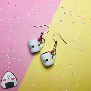 Hello Kitty Mug Earring