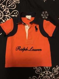RL男童polo衫