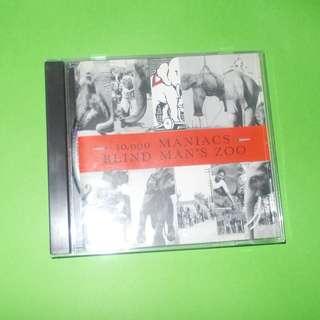 CD 10,000 MANIACS : BLIND MAN'S ZOO ALBUM ALTERNATIVE INDIE NATALIE MERCHANT