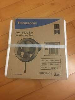 全新未開封 Panasonic 樂聲牌 (15cm/6吋) 窗口式抽氣扇