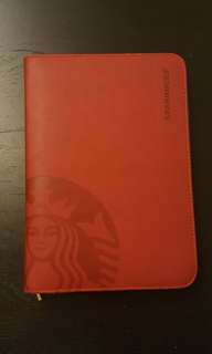 Starbucks Planner 2013 (zip & leather)