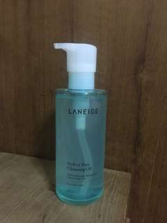 Laneige perfect pore cleansing oil 250ml (preloved)