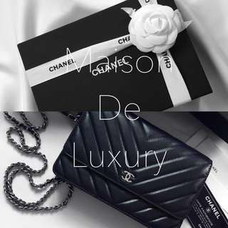 📦Carousell Customer Order - Chanel 2018 Chevron Classic WOC