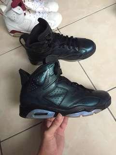 Nike air jordan 6 明星賽 變色龍 us10