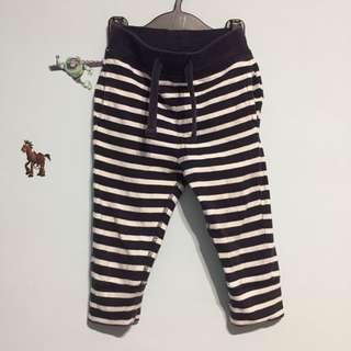 Gap嬰幼兒條紋薄長褲